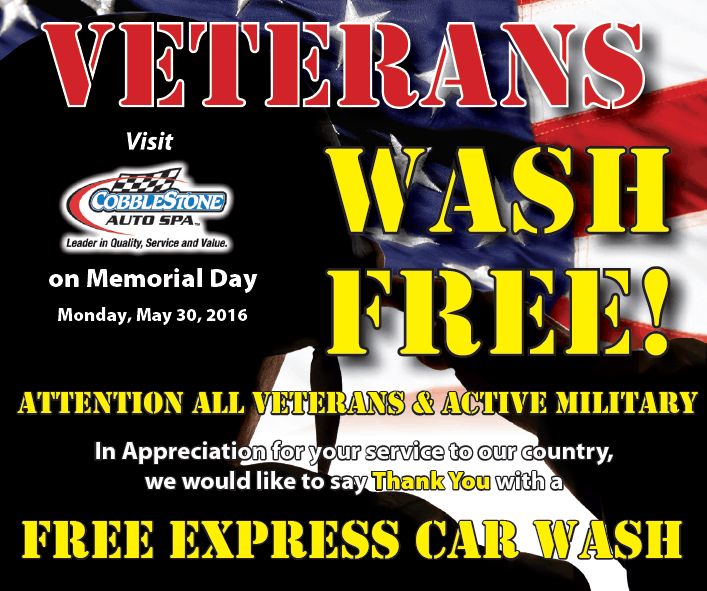 Soapy Joes Salutes Veterans | Soapy Joe's Car Wash