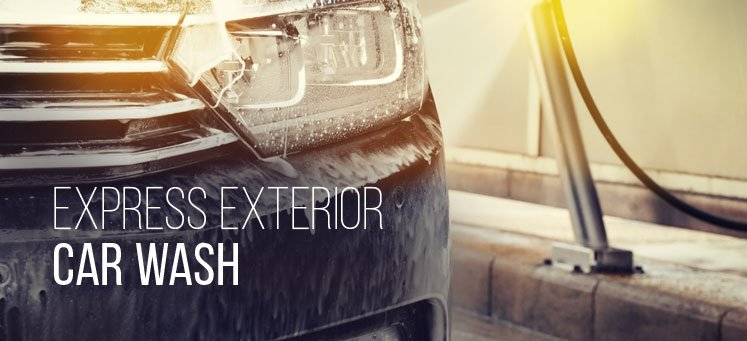 express exterior car wash cobblestone auto spa
