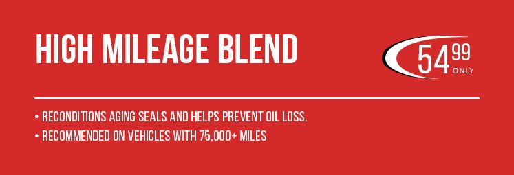 high mileage blend